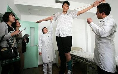 World Tallest Man