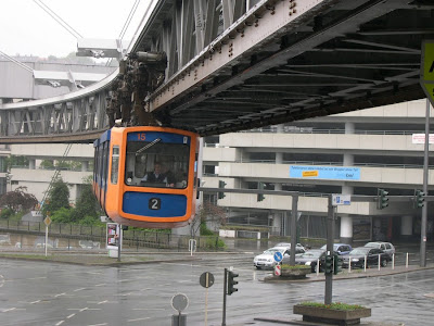 World Amazing Hanging Trains in Germany
