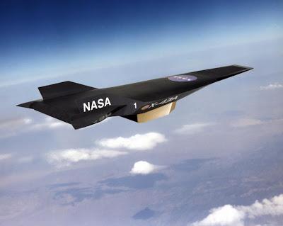 World Fastest Plane - X-43 Aircraft