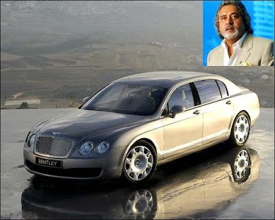 Vijay Mallya 's Car
