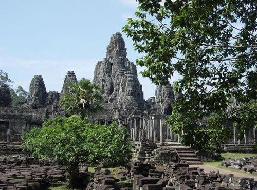 Angkor Wat, Angkor Thom, and Bayon