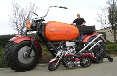 World's Biggest Motorcycle