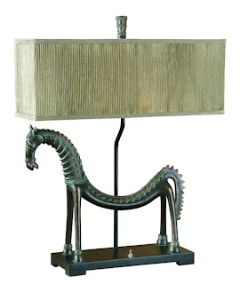 Creative Horse Traditional Table Lamp