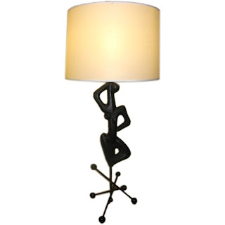 Body shape sculpture Lamp
