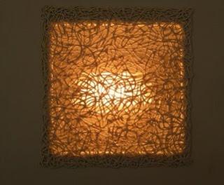 Spaghetti lampshades