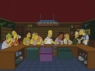 The Last Supper - The Simpsons version
