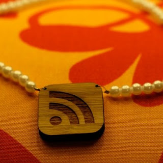 RSS pendant necklace