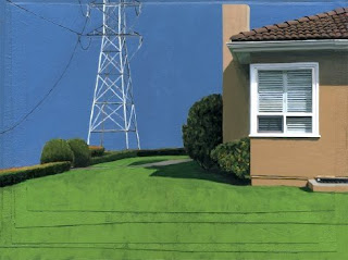 On Boundary Road - Painting