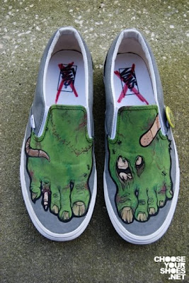 Funny Zombie Feet Shoes