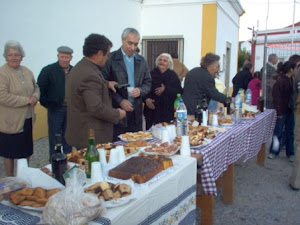 inauguração do presépio em Dezembro de 2007
