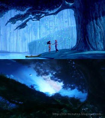 avatar-pocahontas: bosque azul
