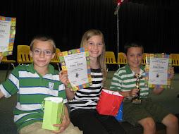 Top 3 in the Spelling Bee!