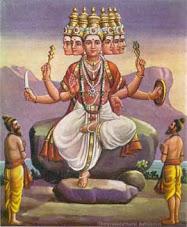 Hindu God Skanda, epitome of knowledge &  destroyer of evil forces.