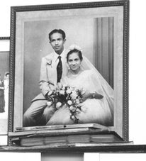 My Father & Mother. Baminahennadige Donald Benedict Peiris & Prangige Lalitha Peiris of  MORATUWA