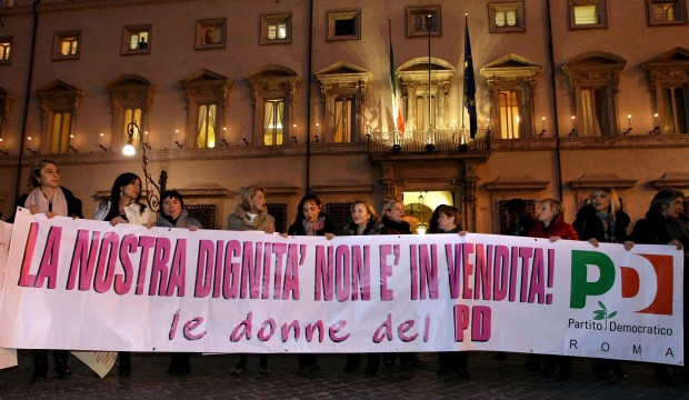 I democratici per casola sit in donne pd calpestata la for Donne parlamentari pd