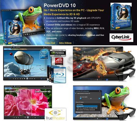 Скачать Portable Cyberlink PowerDVD Ultra 10.0.1516.51.