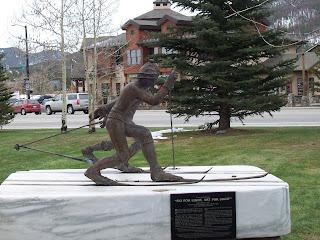 Statue in Frisco