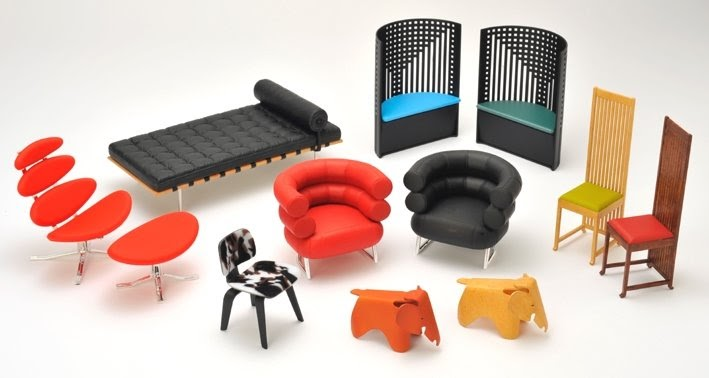Mini modern reac designer chair collection vol 6 for Mini designer chairs