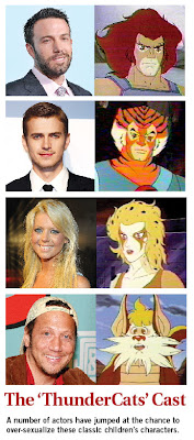 Thundercats 2010 Cast on The Thundercats  2010