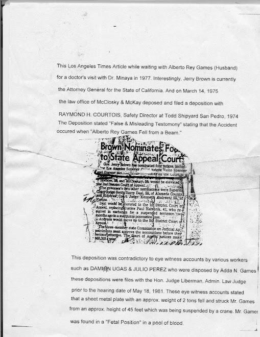 GOV. BROWN NOMINATES McCLOSKEY