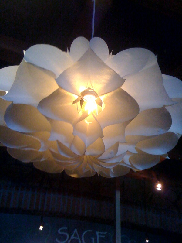 Mundane entertainment oh snap - Paper lighting fixtures ...