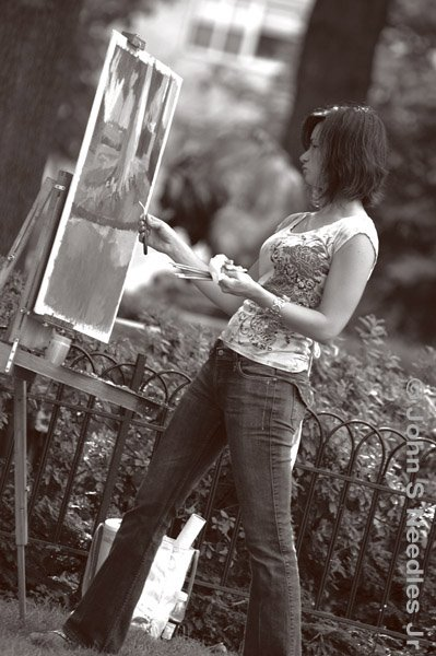 3_Rittenhouse Square_ Painter