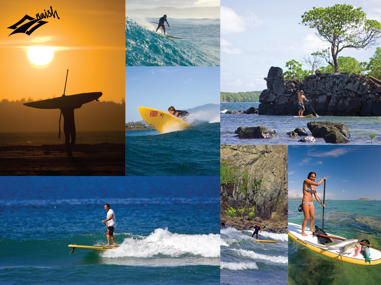 sup surfing wallpaper - photo #1
