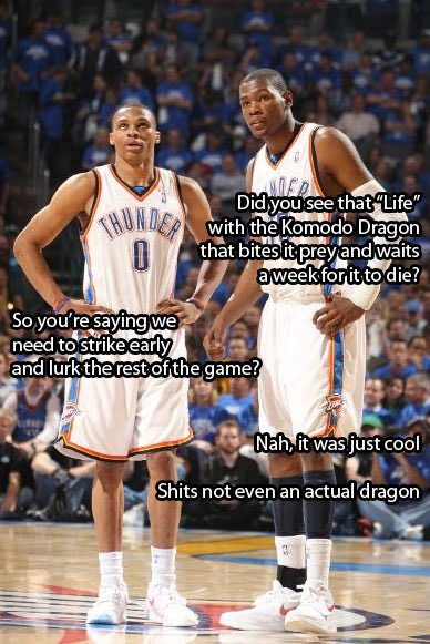 """Kevin Durant And Russell Westbrook Best Friends (replace kevin durant with """""""