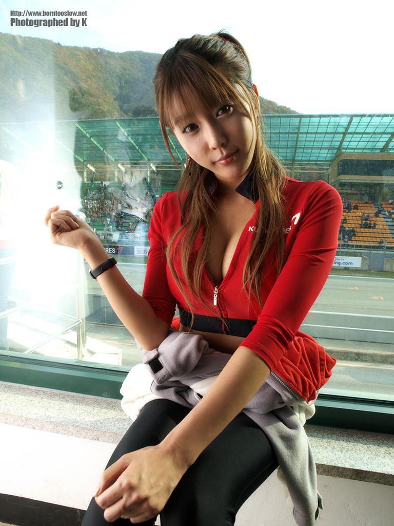 Hwang mi hee korean race queen - 5 1