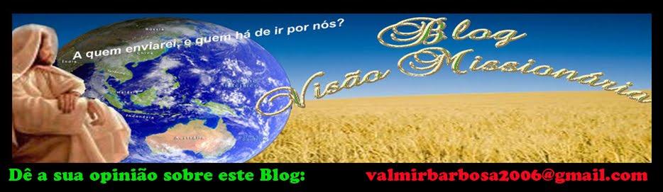 BLOG  VISÃO  MISSIONÁRIA