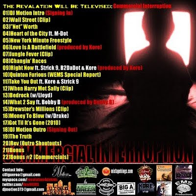 download revalation the revalation will be televised: commercial interruption hosted by dj motion