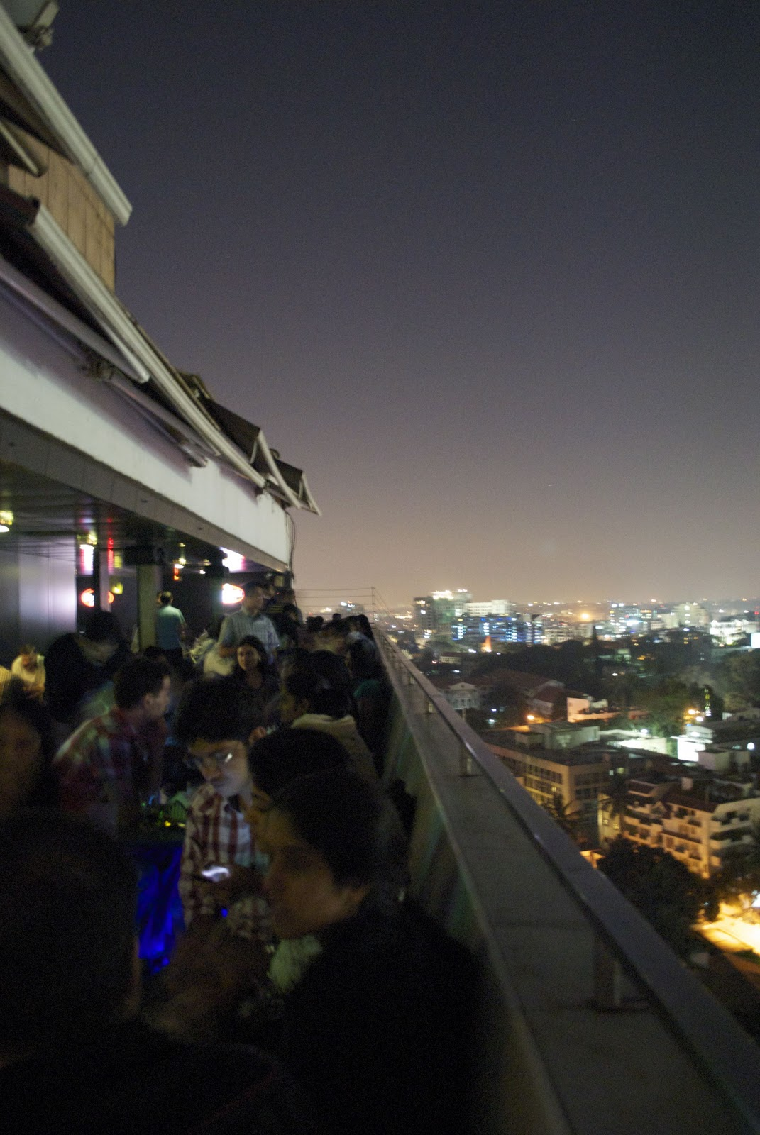 Another point of view dining under the stars http for 13th floor mg road