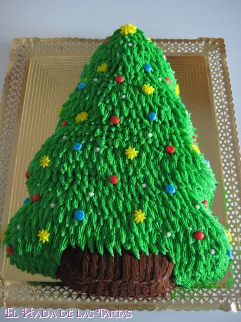El Hada De Las Tartas Tarta Arbol De Navidad