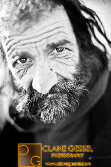 a homeless man in seattle's south side