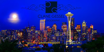 Space Needle Seattle Cityscape photography from Kerry park by Clane Gessel