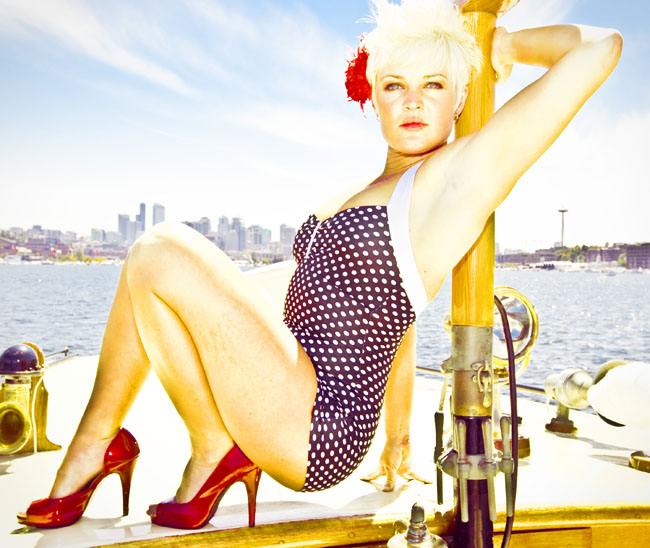 seattle pinup photos, pinup seattle photography