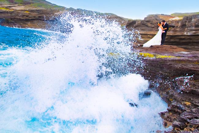 hawaii beach weddings, oahu honolulu wedding photographers