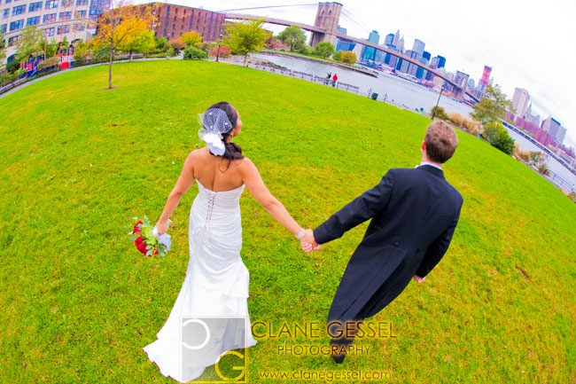 edward fulton ferry state park brooklyn bridge wedding photography, new york city wedding photographer
