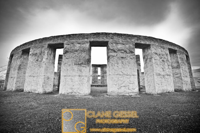 Stonehenge replica at maryhill, washington
