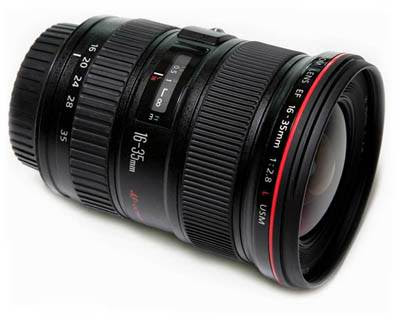 16-35mm F/2.8l II canon wide angle lens