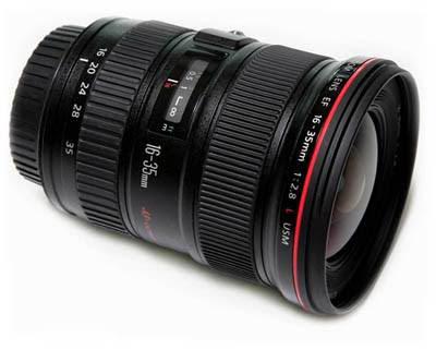16-35mm F/2.8l II canon wide angle lens