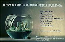 IX Jornadas Poéticas ACEC