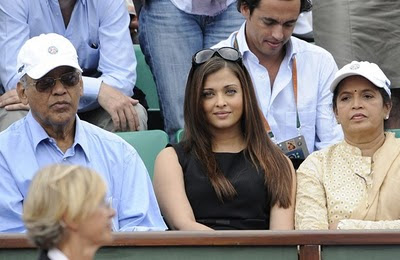 Photos of Aishwarya Rai in french open