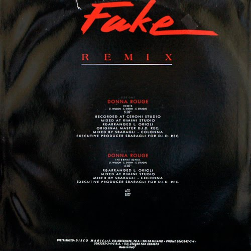 Fake - Donna Rouge (Remix) Maxi 87'