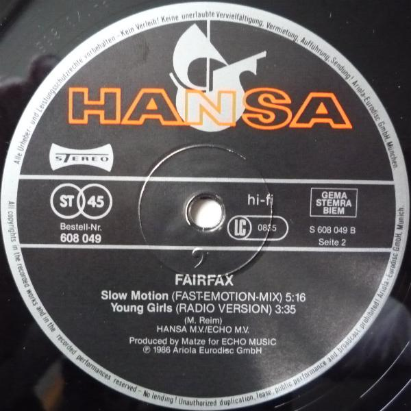 Fair Fax - Young Girls (Maxi 86')