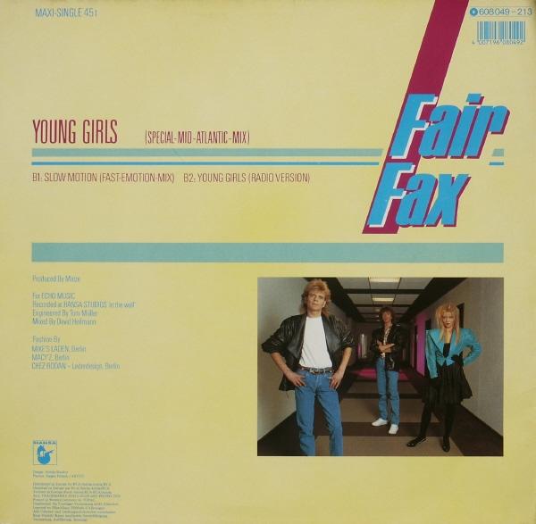 Fair Fax - Young Girls (Maxi 86')