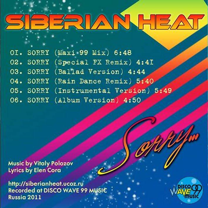 Siberian Heat & Elen Cora - Sorry (Maxi 2010 & 2011)
