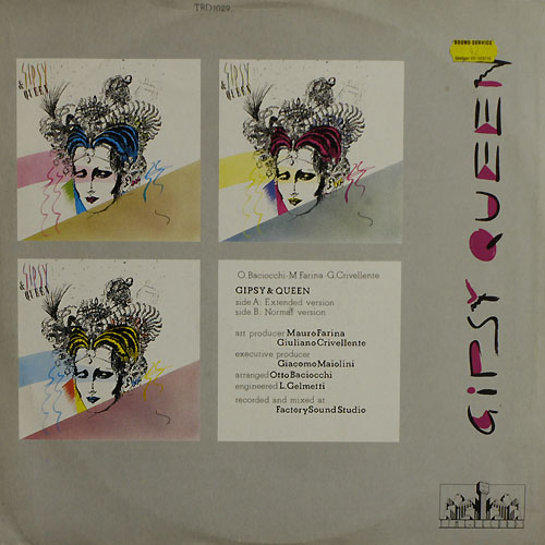 Gipsy Queen - Gipsy Queen (Vinyl 1986)