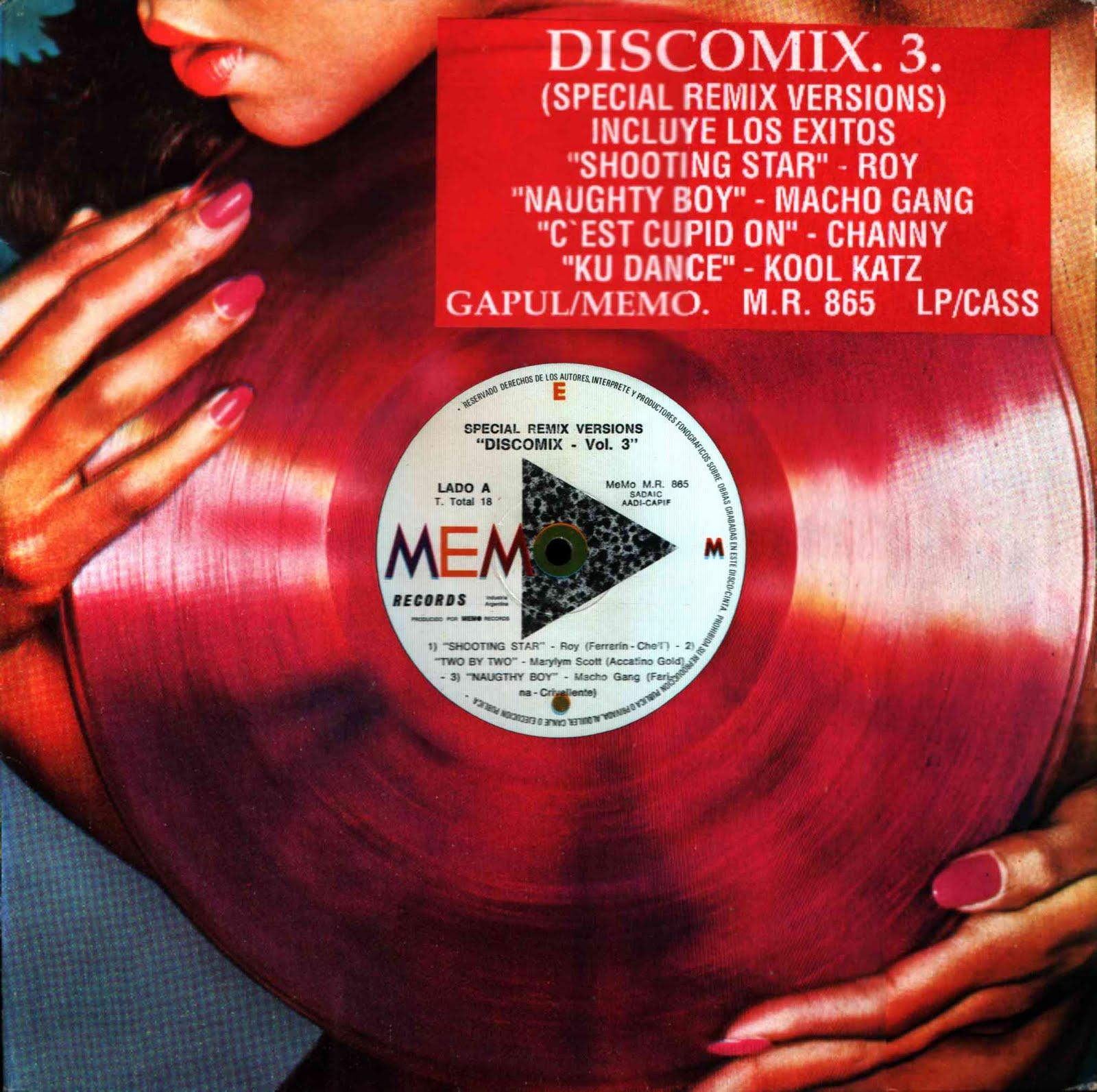 GApul Discografia: Discomix Vol 3 (Memo Records)