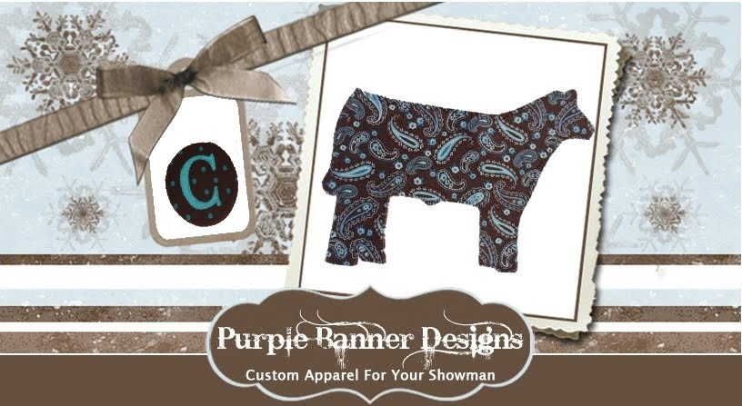 j3 cattle company purple banner designs update
